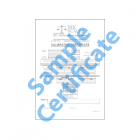 Calibration Certificate B